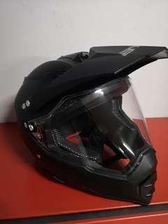 Black matt helmet