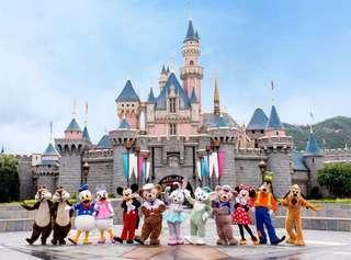 🚚 Hong Kong Disneyland adult tickets x02