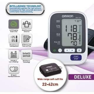 🚚 Large Cuff - Brand New!!! Omron Automatic BP Monitor - HEM 7130 L - 60 Memories with Date and Time!!!!!