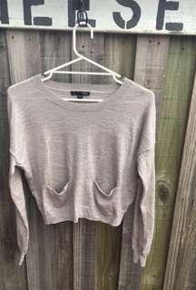 SABA grey jumper