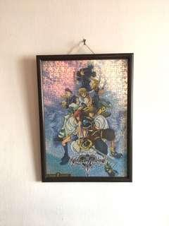 Kingdom Hearts 2 Holographic Puzzle