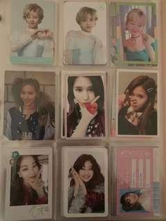 selling official twice photocards