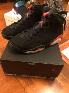 Air Jordan 6 Infrared US8