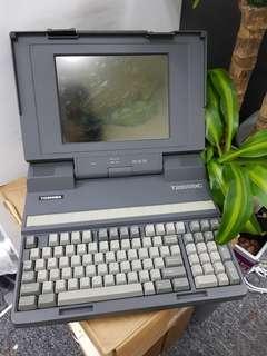 Vintage Toshiba Laptop