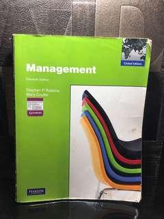 Management Eleventh Edition Stephen P Robbins Mary Coutler