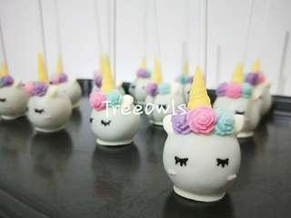Sweet Unicorn Cake Pop 😍