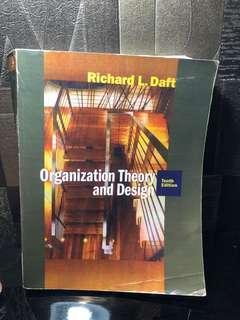 Organization Theory and Design Richard