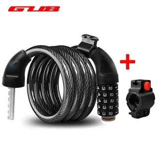 ***New Upgraded Password lock with seatpost mount for Bicycle, Escooter , etc....