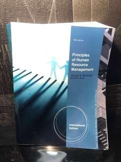 Princinciples of Human Resource Management