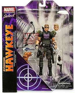 (Pre-Order) Marvel Select Avenging Hawkeye KO Action Figure