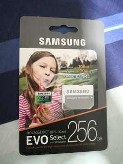 🚚 Brand new sealed Samsung microSD Card memory 256gb u3 evo select not SanDisk