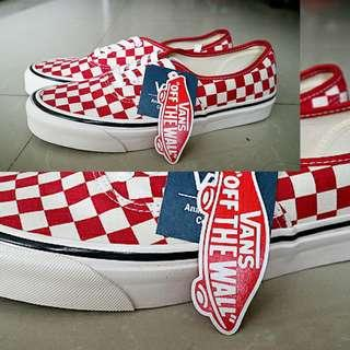 New original Vans Authentic 44DX anaheim factory OG red