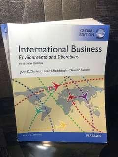 International Business Environment and Operations