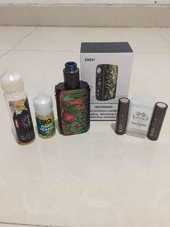 Vape psk full set 800 nego!