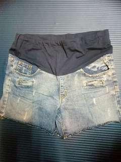 🚚 孕婦牛仔短褲