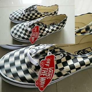 New original Vans authentic (blur check) black/classi