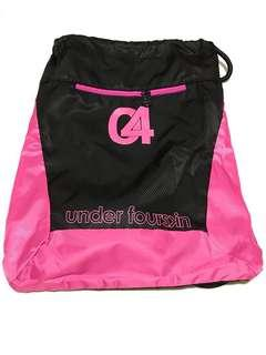 Brand new! Got it as a gift Fourskin Pink Drawstring Backpack  tote bag