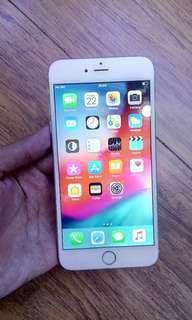 Iphone 6 plus 16gb second original mulus fullset