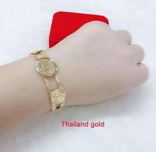 Thailand Gold Bracelet