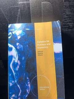 Statistics for Business and Economics Anderson