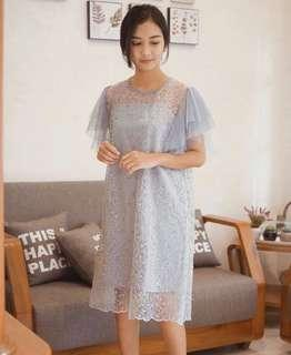 Sewa dress amora grey