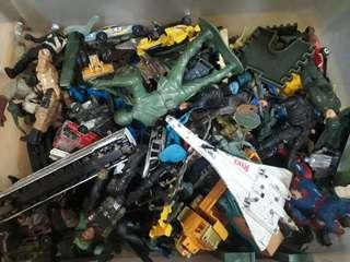 ORIGINAL Assorted Army and War Games Toys