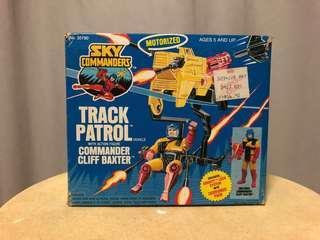 Sky Commanders Vintage Track Patrol complete retro toys