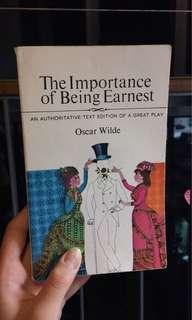 🚚 IMPORTANCE OF BEING EARNEST