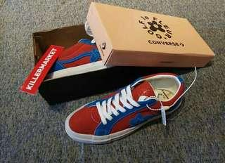 Converse One Star x GolfWang red blue