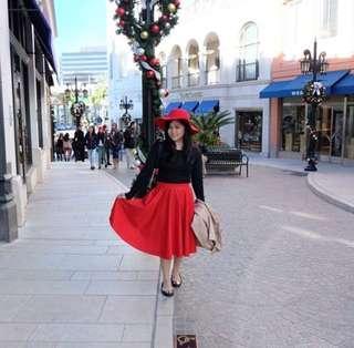 Red Skirt | Chlorine