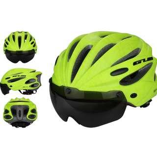 ***New GUB Green K80 PLUS Helmet with visor and goggles