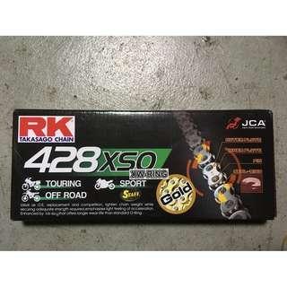 RK黃金油封鏈條428XSO (120目)
