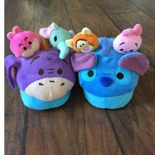 Sandal Slippers Stompeez Disney TsumTsum 4-7 Tahun