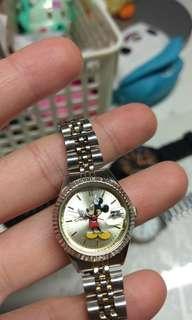 🚚 118 可愛米奇錶 迪士尼 for lady or child Disney mikey MZB 20mm