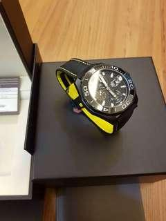 PRELOVED Tag Heuer Aquaracer Calibre 16 Chronograph  Black Titanium