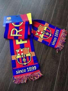 FC Barcelona bufanda football soccer fan scarf 8d3f18a57e7