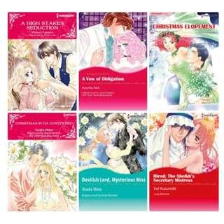 Paket Ebook Komik Harlequin English 76