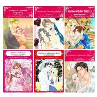 Paket Ebook Komik Harlequin English 77