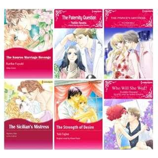 Paket Ebook Komik Harlequin English 78