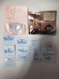 🚚 Price for 8 pcs BN Korean skin care samples