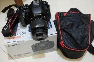 ❌SOLD❌ Canon EOS 600D Kit 18-55 IS II