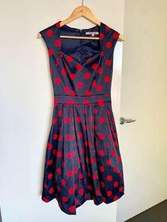 Cute Red dots dress