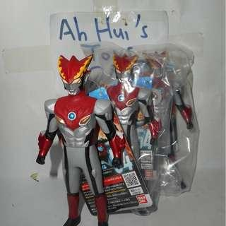 BANDAI Ultra Hero 54 Ultraman R/B Ultraman Rosso Flame