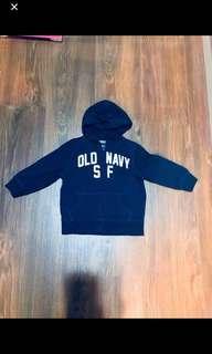 🚚 Old Navy 帽T外套-寶藍色