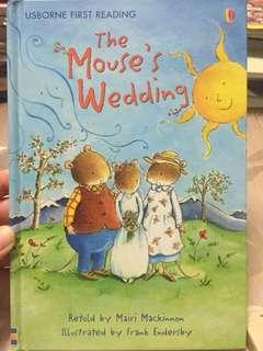 🚚 The Mouse's Wedding (Hardbound)