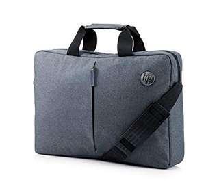 "HP 15.6"" top load laptop bag (Azurite Blue)"