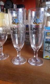 SANTORY BEER GLASS