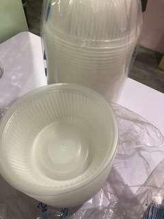 Plastic party bowl