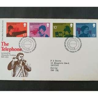 British First Day Cover- The Telephone