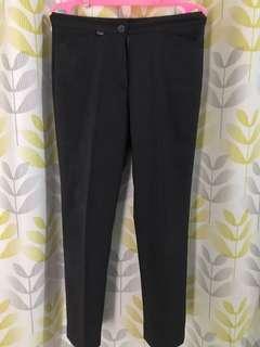 Celana kerja warna dark grey
